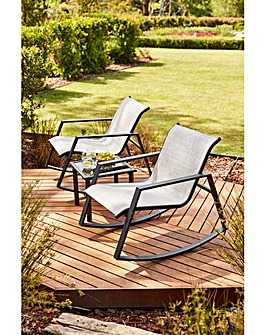 Aruba 3 Piece Bistro Rocker Set