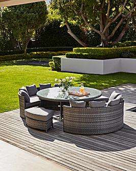 Santorini Round 10 Seat Dining Set
