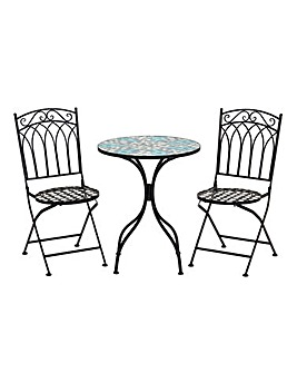 Cartmel Mosaic Bistro Set