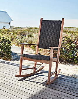 Odell Wooden FSC Rocking Chair