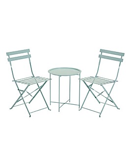 Maya Tray Bistro Set Sage Green