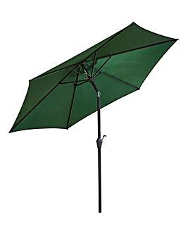 Apsley 3m Crank & Tilt Parasol Green
