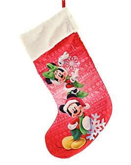 Mickey Plush Stocking