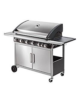 Spear & Jackson Premium 6 Burner Gas BBQ