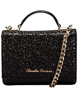 Claudia Canova Glittered Flapover Cross