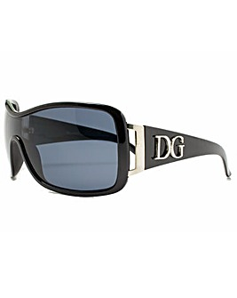 DG Eyewear Red Frame Sunglasses