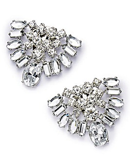 Diamante Shoe Clips