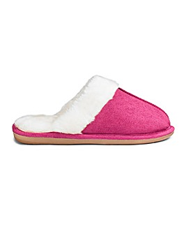 Warmlined Mule Slipper