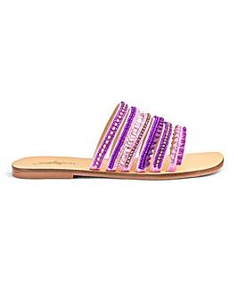 Joe Browns Jewel Sandal Extra Wide Fit