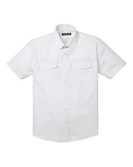 Premier Man White Pilot Shirt R