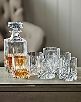Royal Doulton Crystal Decanter Set