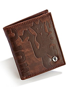 Executive Brown Football Wallet