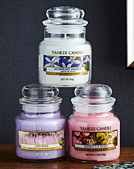 Yankee Set of 3 Floral Collection Small