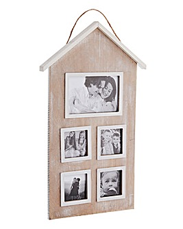 Family House Multi Aperture Photo Frame