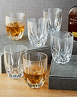 Royal Doulton Flame Set 6 Tumblers