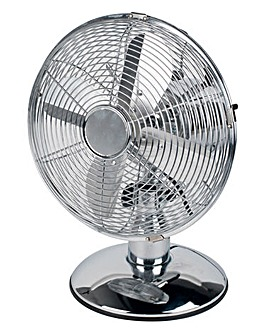 Beldray 10 Inch Chrome Desk Fan