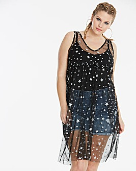 Simply Be Star Overlay Top