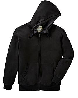 Jacamo Fur Lined Hooded Top Regular