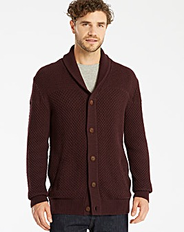 Jacamo Shawl Neck Cardigan Long