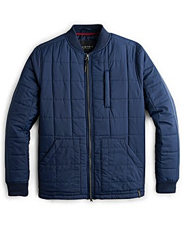 Flintoff by Jacamo Wadded Bomber Jacket