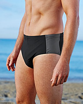 Capsule Black Swimming Trunks