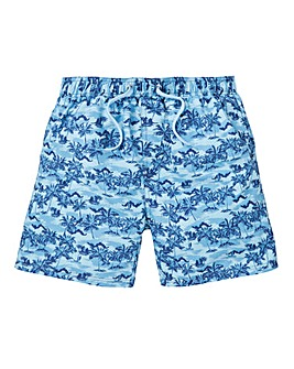 Capsule Palm Tree Swimshorts