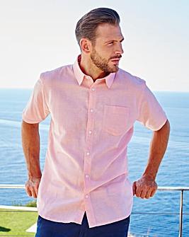 WILLIAMS & BROWN Linen Mix Shirt