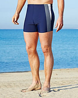 Capsule Navy Swimming Trunks