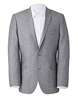 W&B LONDON Linen Mix Suit Jacket R