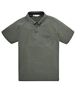 WILLIAMS & BROWN Waffle Polo Shirt