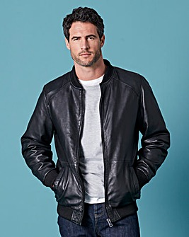 WILLIAMS & BROWN Leather Bomber
