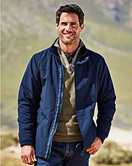 W&B Navy Fleece Lined Jacket R