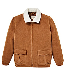 WILLIAMS & BROWN Sherpa Collar Bomber