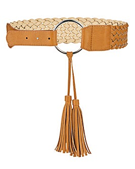 Plaited Waist Belt