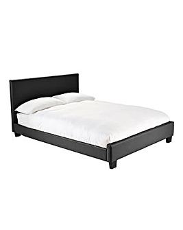 Madison Double Bed with Quilted Mattress