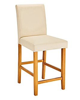 Mia Faux Leather Barstool