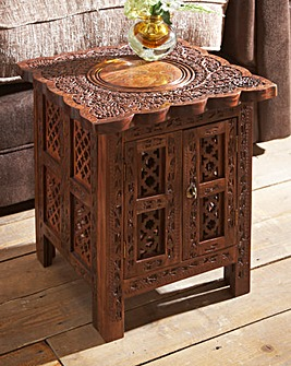 Taj Storage Side Table