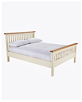 Taunton King Bed with Memory Mattress