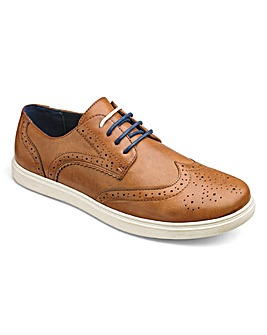 Trustyle Casual Brogues Extra Wide Fit