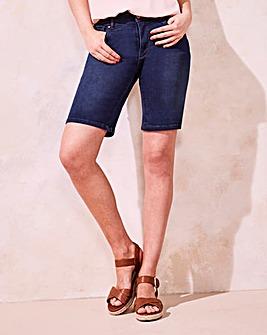 Indigo Shape & Sculpt Denim Shorts