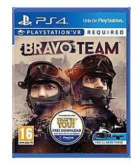 Bravo Team Standard Edition VR PS4