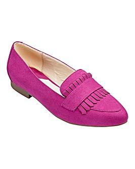 Heavenly Soles Fringe Shoes E Fit