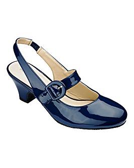 Heavenly Soles Slingback Shoes D Fit