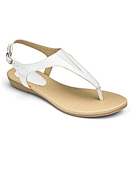 Heavenly Soles Toe Post Sandals E Fit
