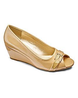 Footflex by Lotus Wedge Shoes EEE Fit