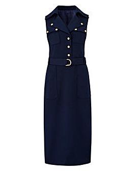 Joanna Hope Military Style Dress