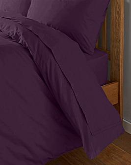 200 TC Plain Dye Percale Flat Sheet