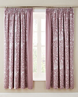 Libby Jacquard Pencil Pleat Curtains