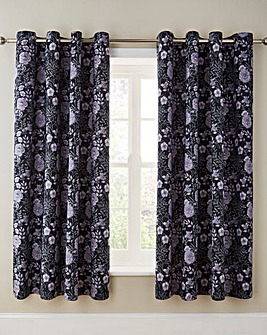 Myla Eyelet Lined Curtains