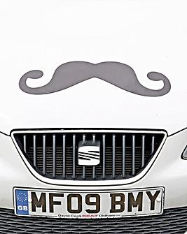 Moustache Car Magnet